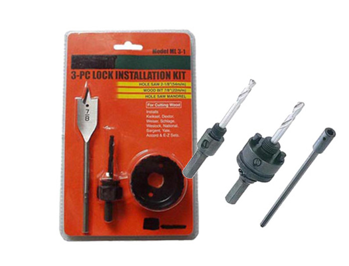 3-pc lock installation kit